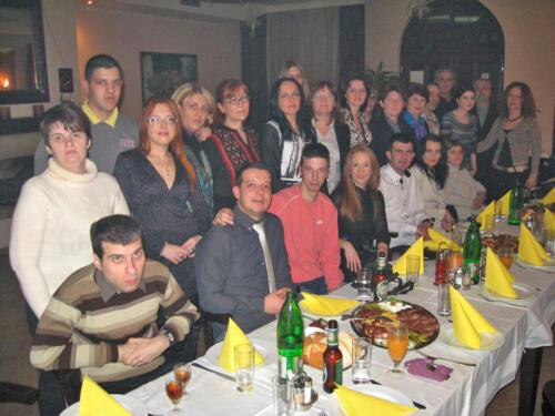 2011. Novogodišnja večera