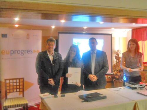 2012. Još jedan evropski projekat Društva za CDP