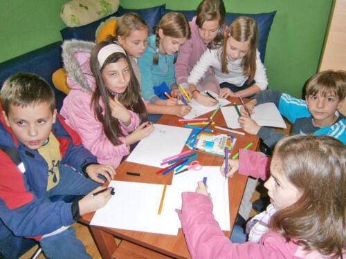 """2012. Kreativne i inkluzivne radionice u Dnevnom centru """"Sunce"""""""