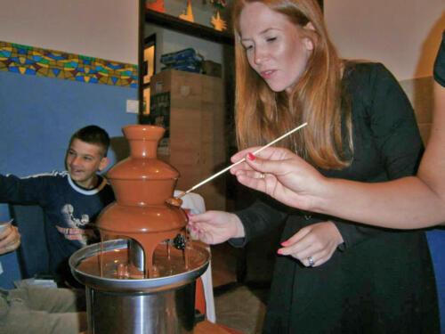 """2013. Čokoladna fontana u """"Suncu"""""""